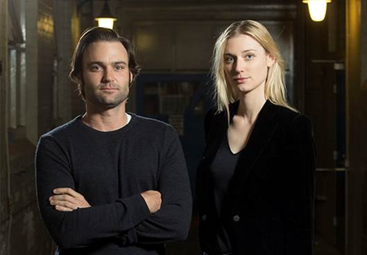 Matthew Le Nevez and Elizabeth Debicki. image - supplied/Foxtel