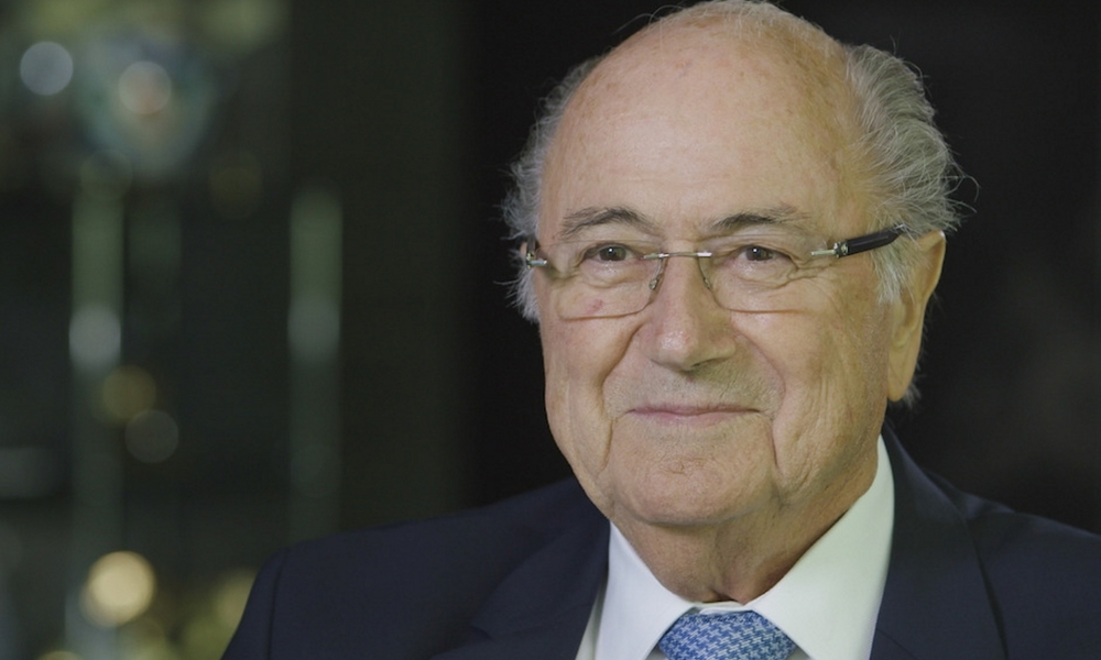 Sepp Blatter image - supplied/ABCTV