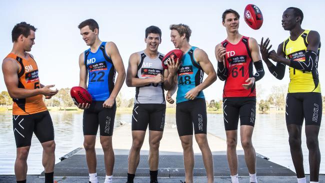 2015 NAB AFL Draft  image copyright - NewsCorp