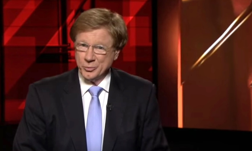 Kerry O'Brien says goodbye. image source - ABCTV