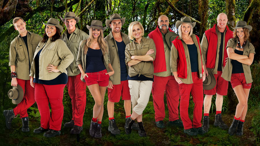 Cast - I'm A Celebrity Get Me Out Of Here 2015 Image - Ten