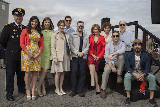 Cast of Special Correspondents Image - Netflix