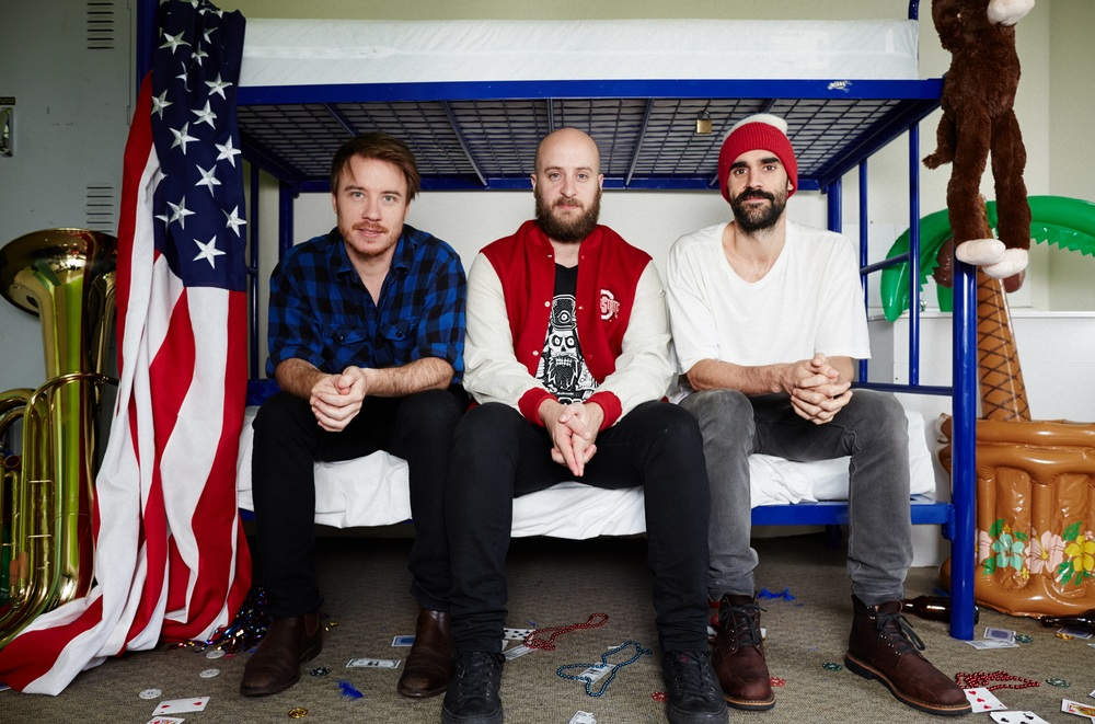 Nick, Gonzo, Parv - Unplanned America S03 Image - SBS