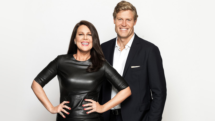 Who will be joining Julia Morris and Dr Chris Brown on I'm a Celebrity Get Me Out Of Here.  image source - Ten Network