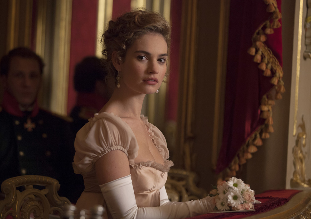 Lily James stars in War and Peace. image - supplied/BBCWorldwideANZ