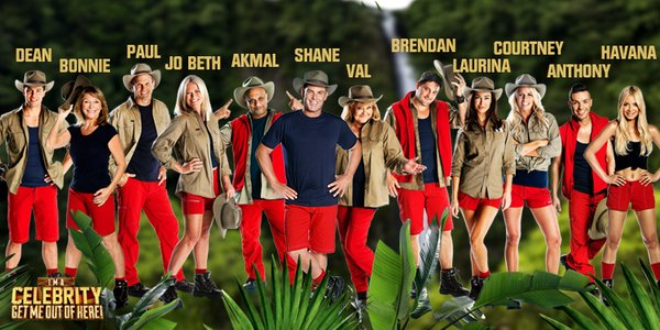 I'm A Celebrity…Get Me Out Of Here 2012: Full line-up of ...