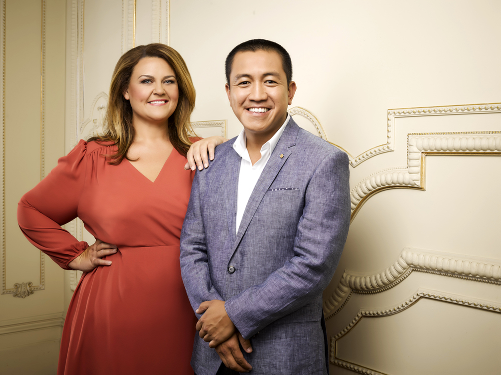 Chrissie Swan and Anh Do image - supplied/Ten
