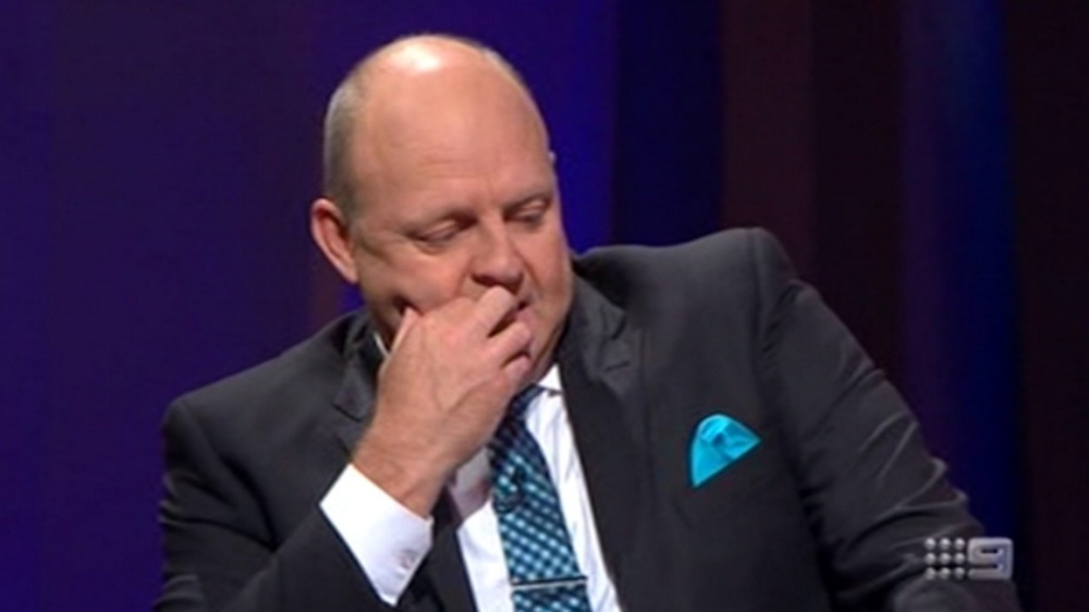 Billy Brownless image source - Nine Network