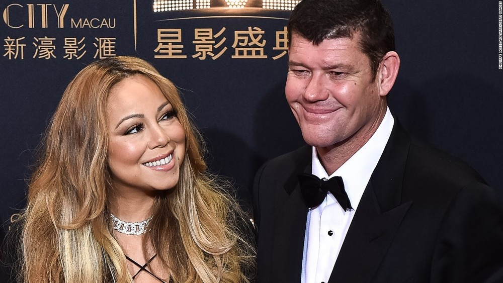 Mariah Carey and James Packer image source- CNN