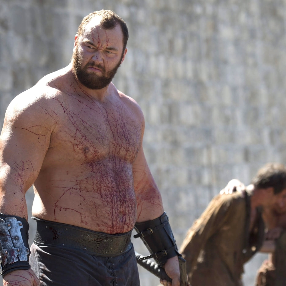 Hafthor Bjornsson image copyright - HBO