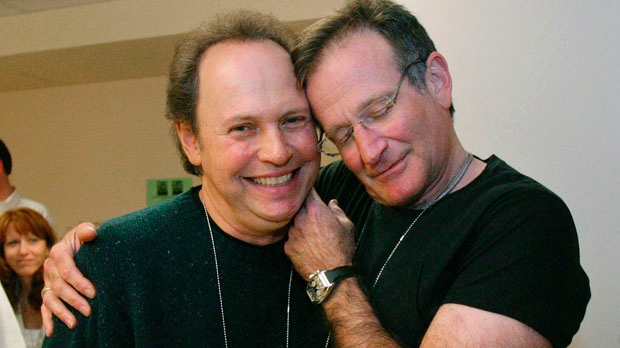 Billy Crystal and Robin Williams  image source - CP24.com