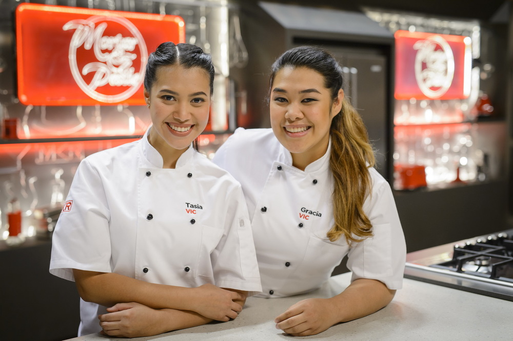 Victorian sisters Tasia and Gracia win MKR 2016 image - supplied/Seven