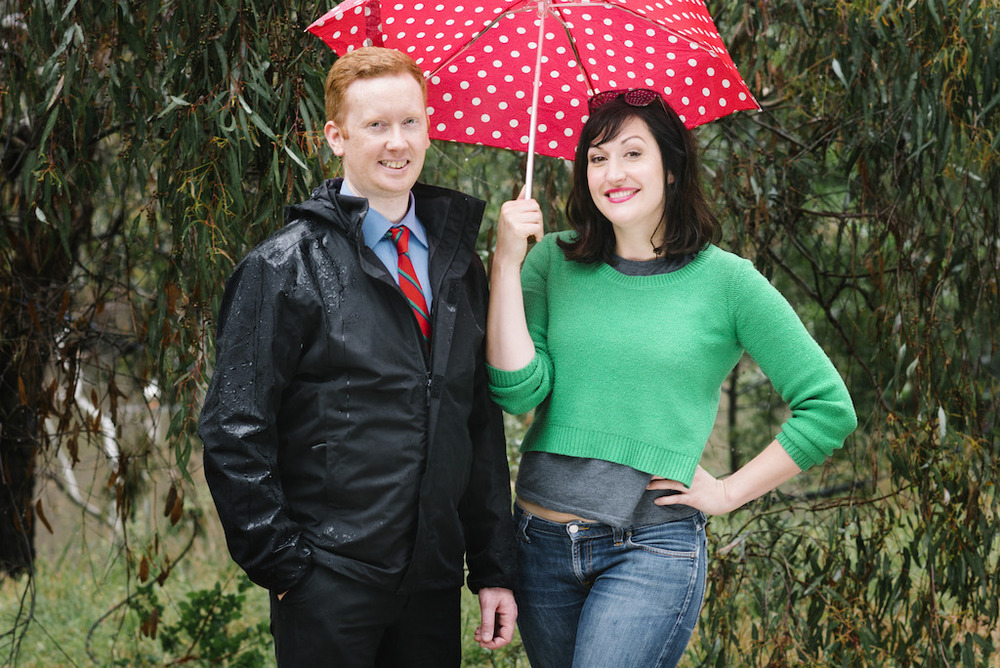 Luke McGregor and Celia Pacquola image - supplied/ABCTV