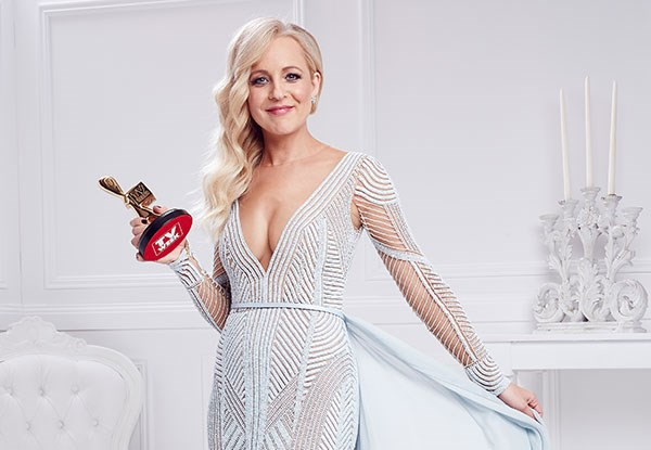 Carrie Bickmore - 2015 Gold Logie Winner Image - TV Week