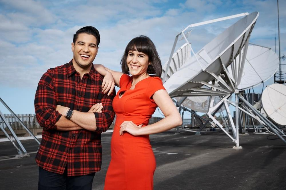 The Feed co-hosts Marc Fennell and Jeannette Francis  image source - SBS