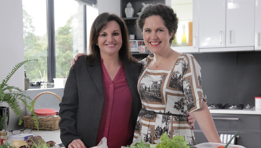 Senator Jacqui Lambie with Annabel Crabb image - supplied/ABCTV