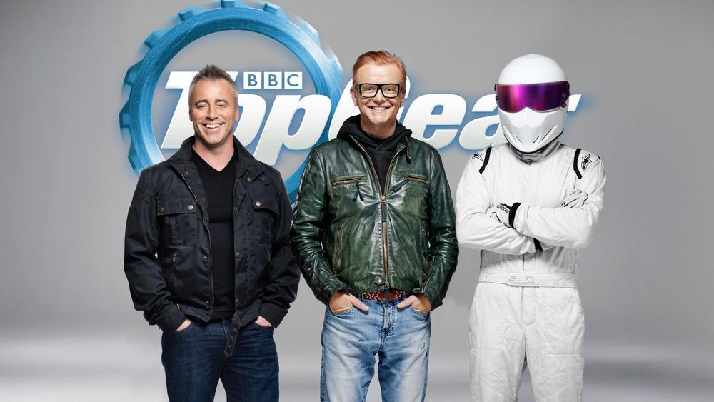 Matt Le Blanc, Chris Evans, The Stig  Image - BBC