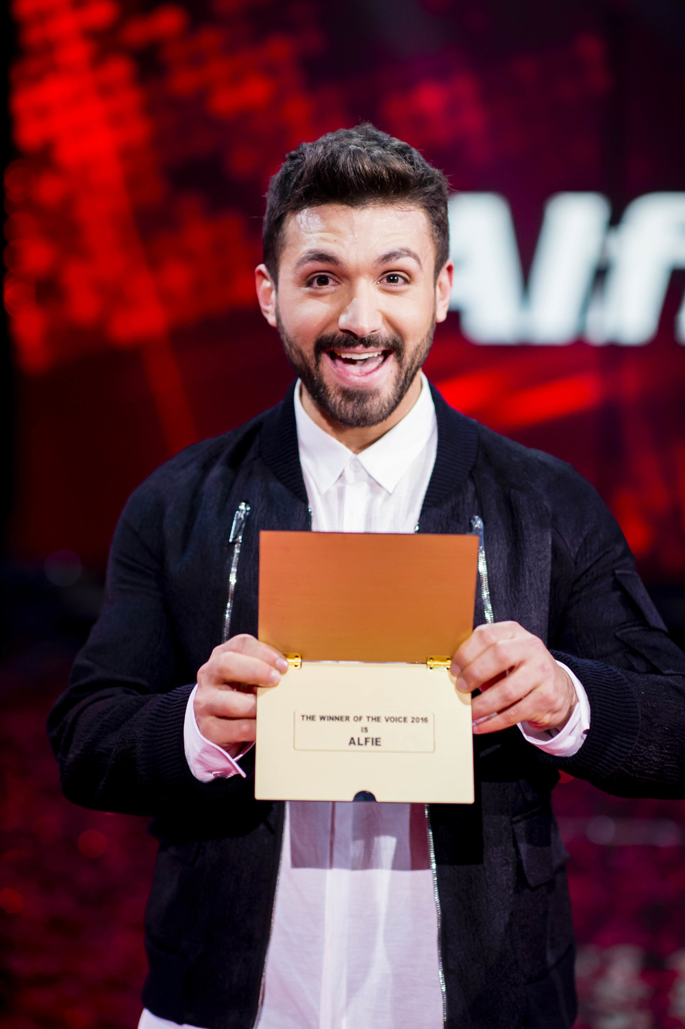 Alfie Arcuri wins The Voice Australia 2016  Image - Nine