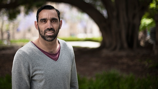 Adam Goodes image source - SBS
