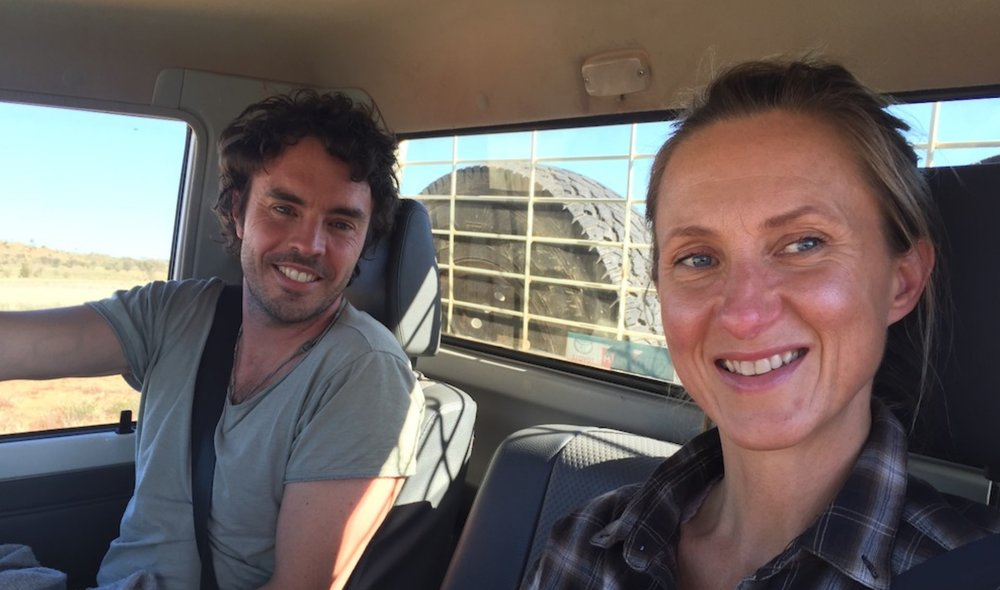 Damien Gameau and Nutritionist Fiona Moloney image supplied - ABCTV