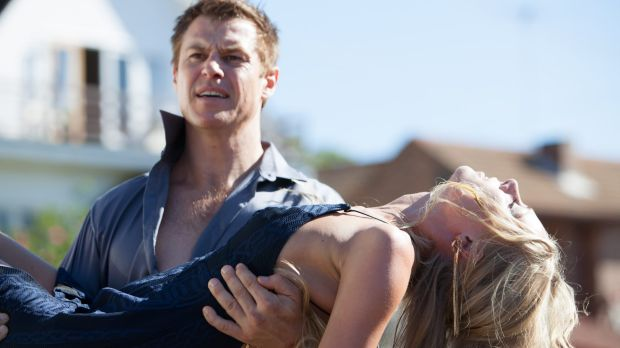 Rodger Corser stars in Doctor Doctor image copyright - Nine