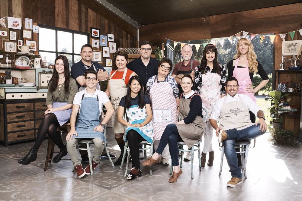 The cast of The Great Australian Bake Off S02 Image - Foxtel