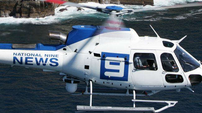 Nine News Brisbane Helicopter   Image - News Corp