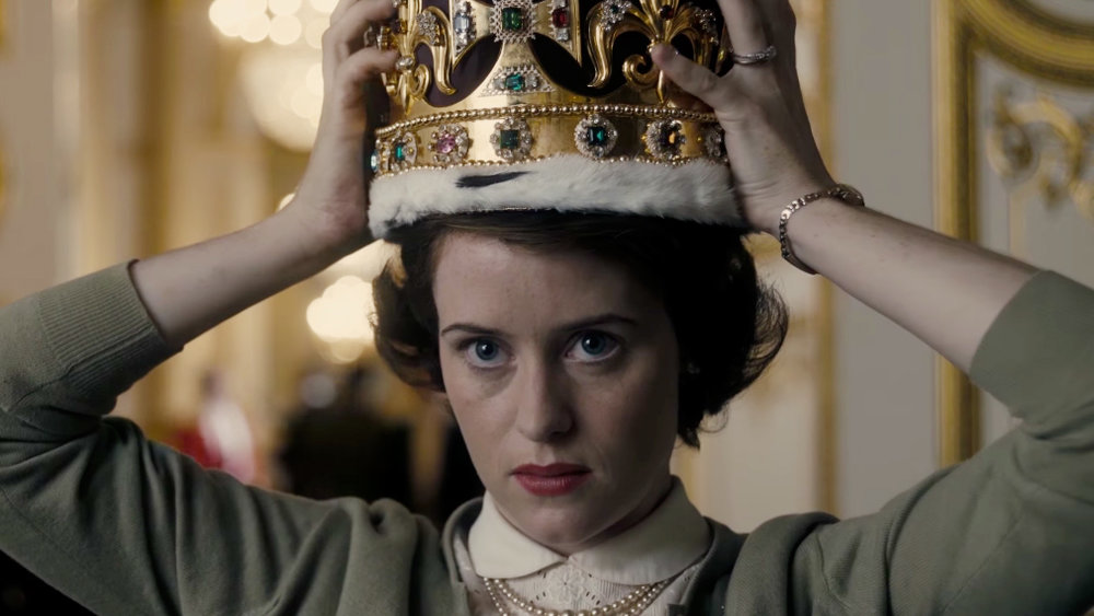 Claire Foy as Queen Elizabeth II image - supplied/Netflix