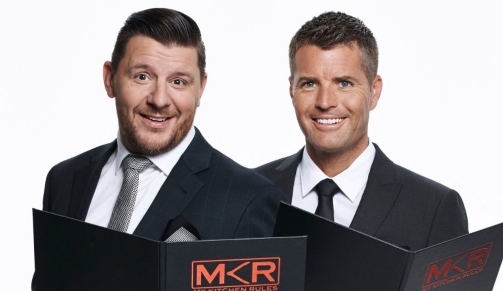 Manu Feildel and Pete Evans image source - Seven