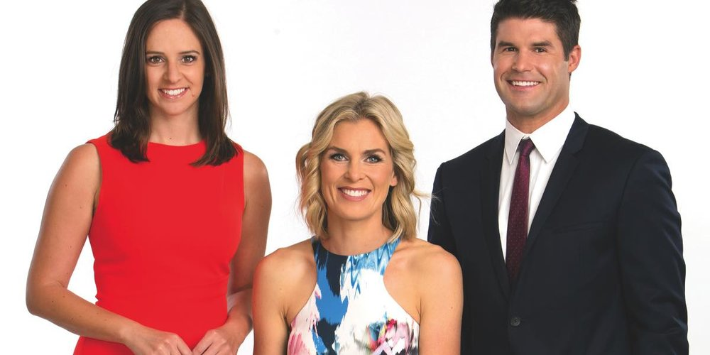 AFL Tonight's Neroli Meadows, Sarah Jones, and Tom Chadwick  image - Fox Footy