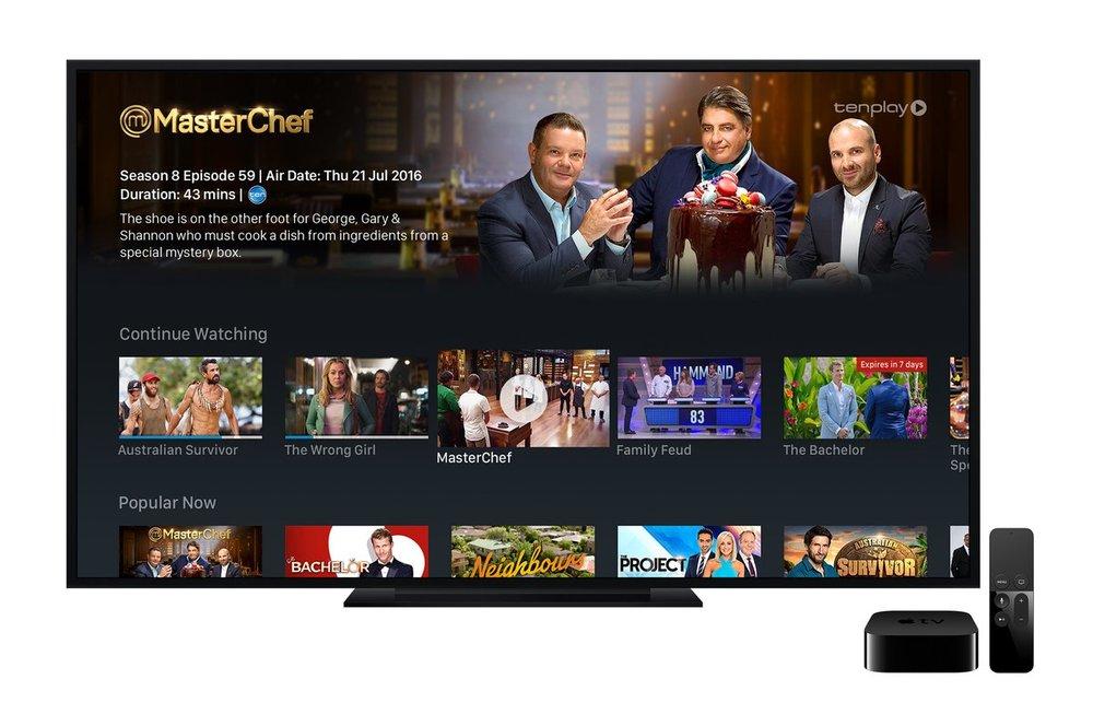 tenplay on Apple TV  Image - Ten