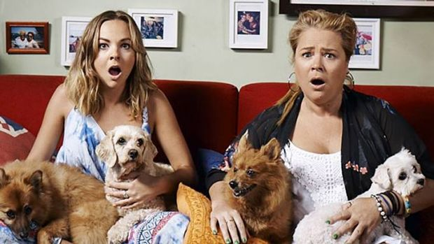 Angie & Yvie from Foxtel/Ten's other co-production Gogglebox Australia Image - Foxtel/Ten