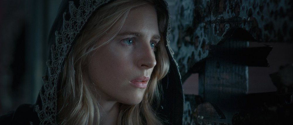 Brit Marling co-wrote and stars in The OA. image source- Netflix