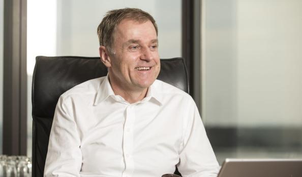 Foxtel Chief Executive, Peter Tonagh  image source - Fairfax