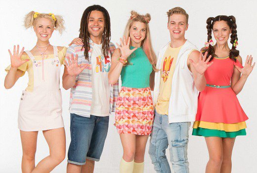 The new cast of Hi-5 image - supplied/Nine