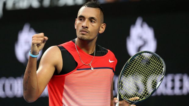 Nick Kyrgios image source - Fairfax