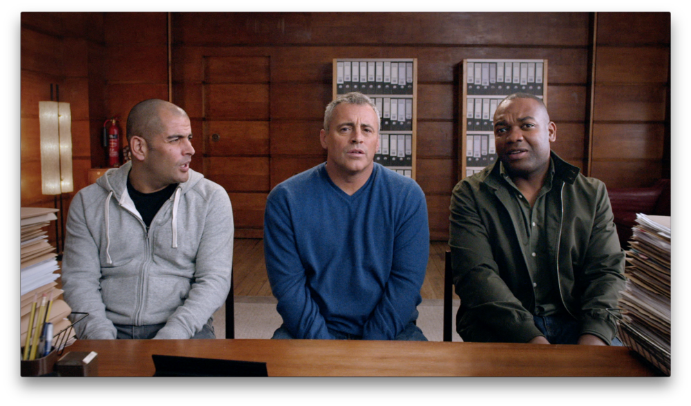 Chris Harris, Matt LeBlanc and Rory Reid image - BBC