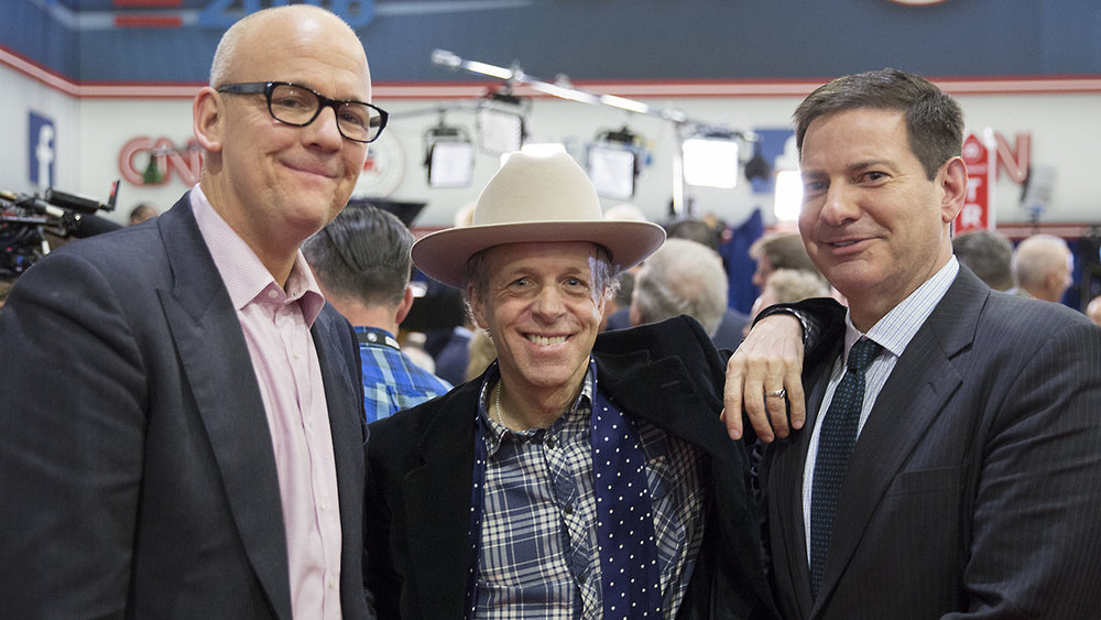 John Heilemann, Mark McKinnon & Mark Halperin star in The Circus Image - Showtime