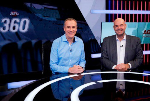 Gerard Whateley and Mark Robinson Image - Fox Sports