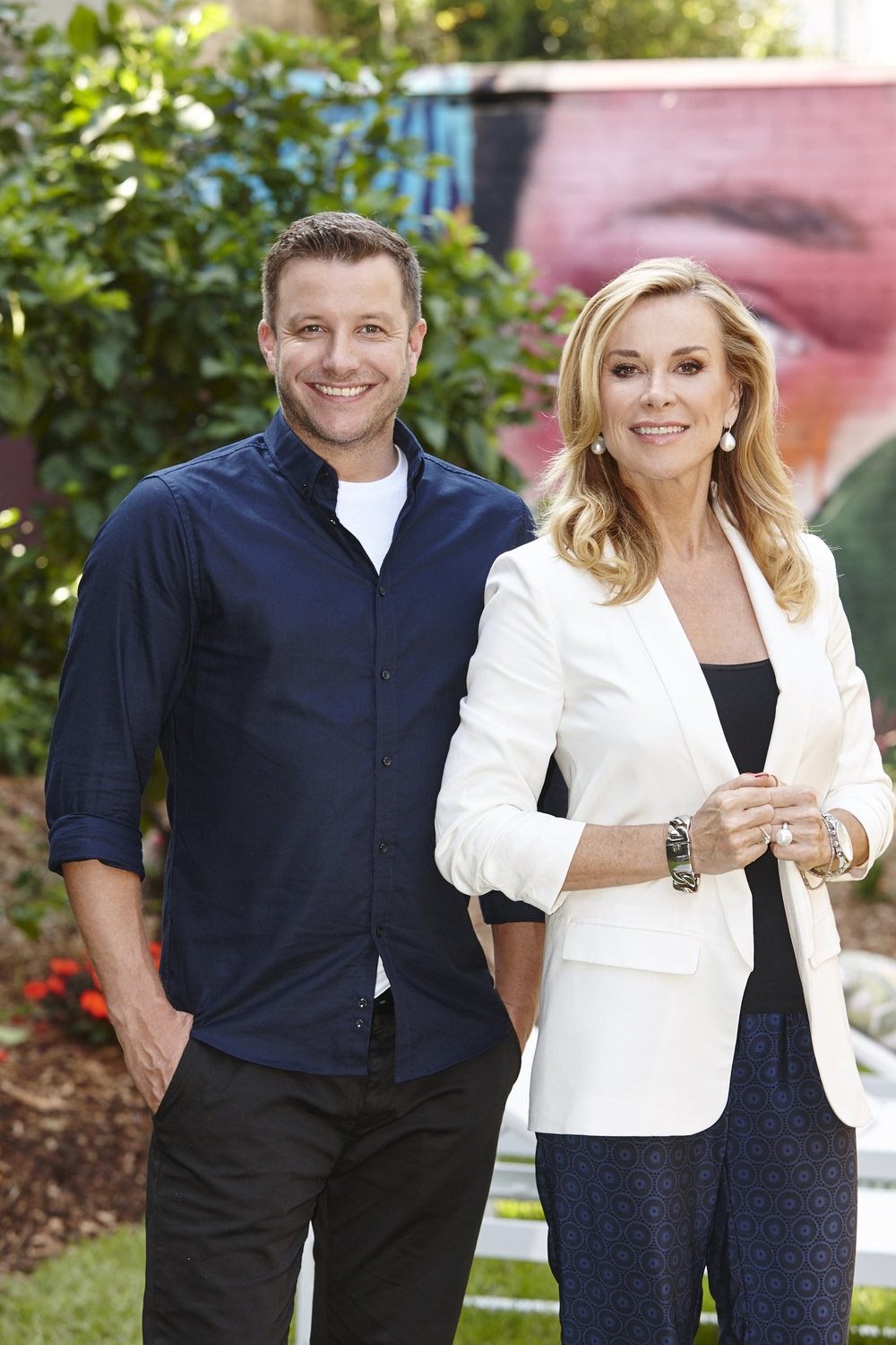 Luke Jacobz and Juliet Ashworth  Image - Seven