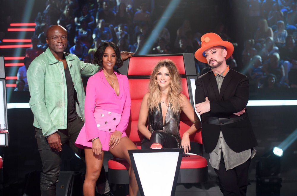 Season 6 judges - Seal, Kelly Rowland, Delta Goodrem and Boy George  image - supplied/Nine