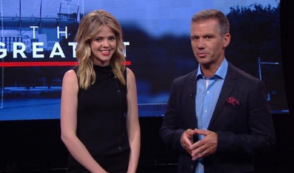Tegan Higginbotham and Matt Tilley image - Fox Sports