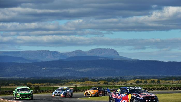 Supercars in Tasmania  Image - Fox Sports