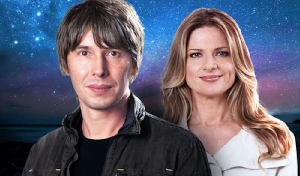 Professor Brian Cox and Julia Zemiro Image - ABC
