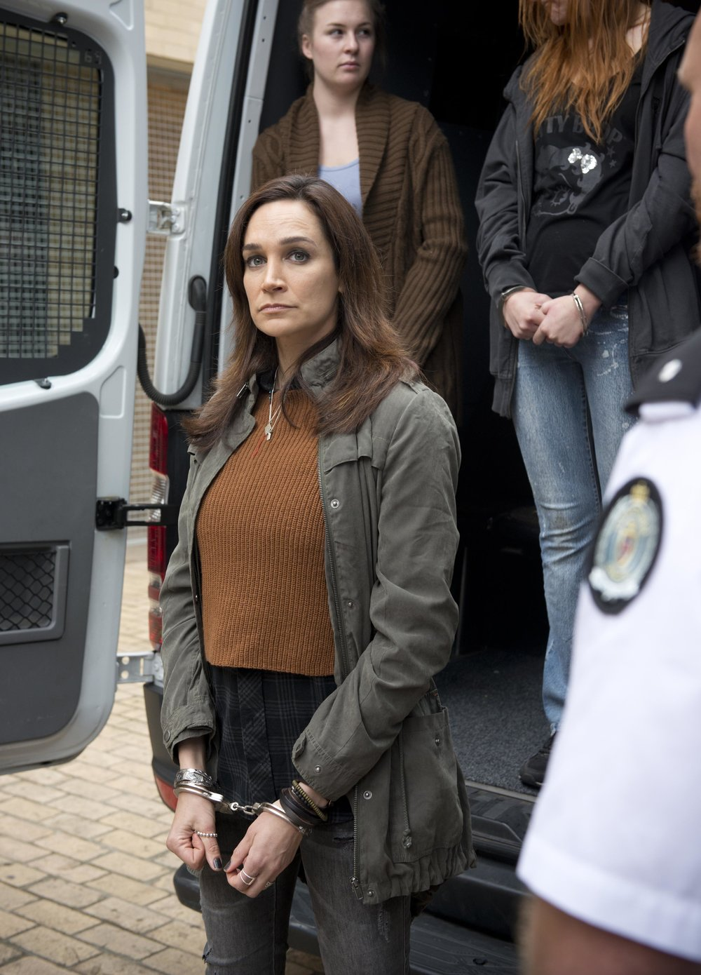 Frankie (Nic da Silva) returns to Wentworth Image - Foxtel