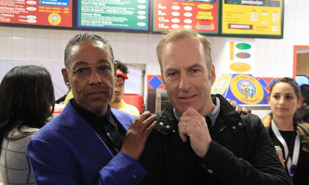 Giancarlo Esposito and Bob Odenkirk Image - Wikimedia Commons