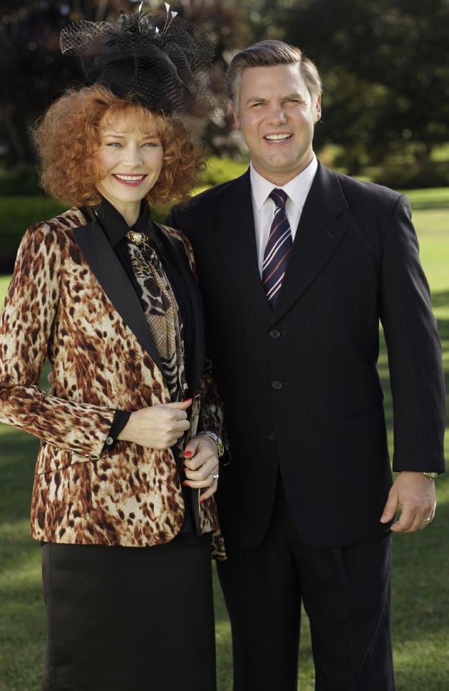 Eileen & Alan Bond (Adrienne Pickering & Ben Mingay) Image - Nine