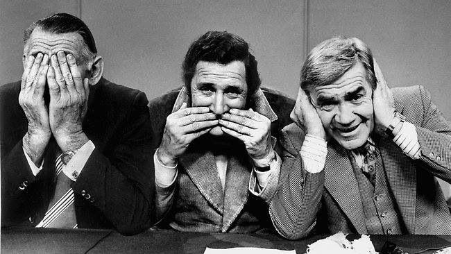 Jack Dyer, Bob Davis and Lou Richards on League Teams. image - Seven