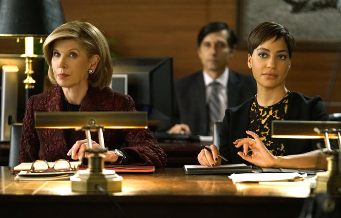 Christine Baranski and Cush Jumbo return together in The Good Fight.  Image - SBS
