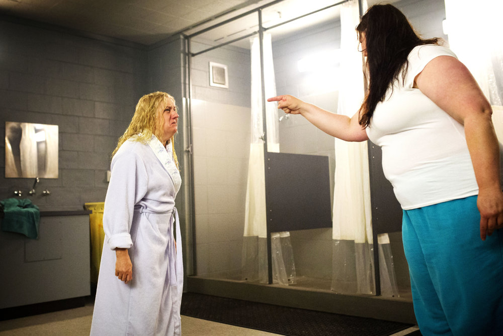 Boomer confronts Liz  Image - Foxtel